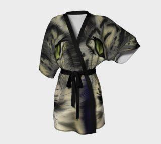 Snow Leopard Kimono Robe preview