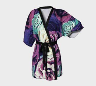 Aperçu de Subdued Flowers Kimono