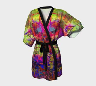 Sunflower Fantasy Kimono Robe preview