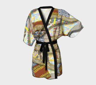 BORDER Kimono Robe  109-3 preview