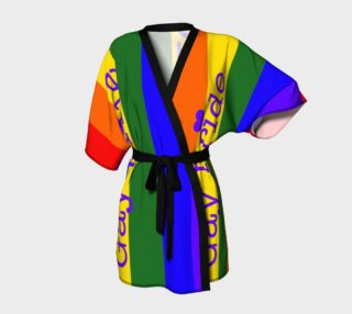 Gay Pride Love Kimono Robe preview
