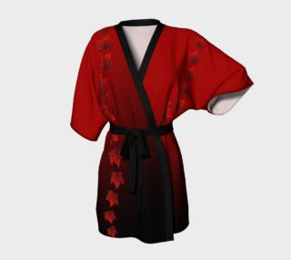 Canada Robe Canada Maple Leaf Kimono Robe preview