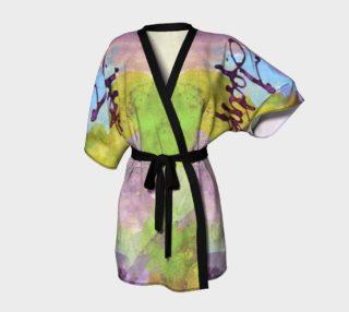 Script Belted Kimono preview