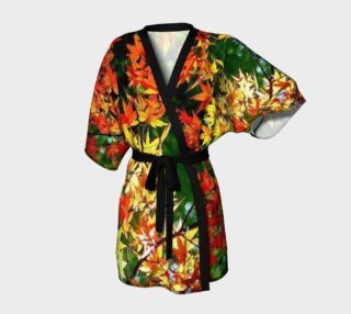 Kimono Robe in Autumn, for anyone.  preview