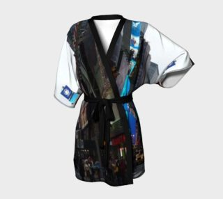 The Time Square, New York City, Kimono Robe for anyone. preview
