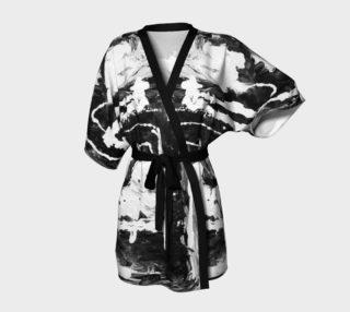 Black and White Contemporary Kimono preview