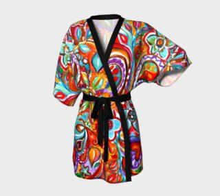 Bohemian Paisley Fantasy Kimono preview