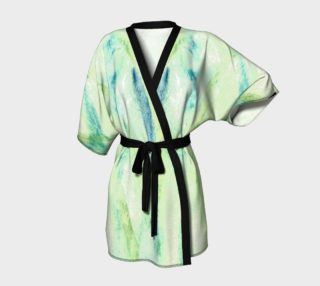 Swimming Through the Seaweed Kimono preview