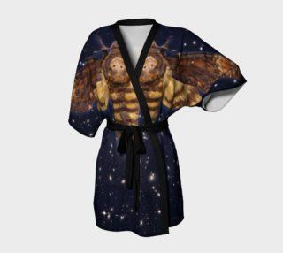 Aperçu de Stellar Death's Head Moth  Kimono Robe