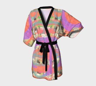 Digital Collage Kimono Robe preview