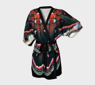 Aperçu de Mondo Cecropia Moth Kimono Robe