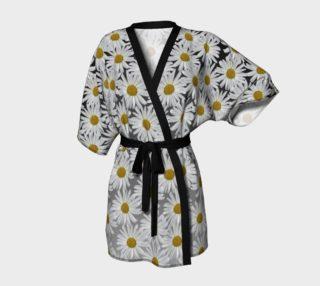 White Daisy Kimono Robe 160801 preview