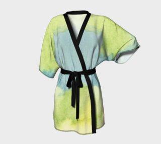 Aperçu de Flowers in Stained Glass Kimono