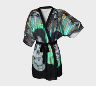 Dia de los Muertos Kimono preview
