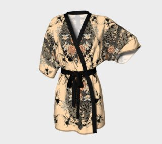 snake and scarab kimono robe preview