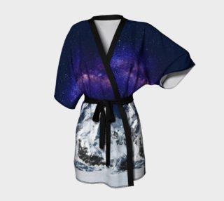 Snow + Galaxy Kimono Robe preview
