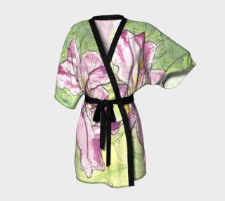 Pink Water Iris Kimono preview
