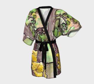 Trees Forest & Yellow Fungus Kimono preview
