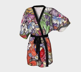 Watercolor Doodle Kimono preview