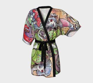 Watercolor Sketch Doodle 2 Kimono preview
