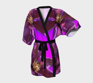 Aperçu de I Love Purple Kimono Robe