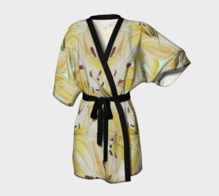 Yellow Lilies Kimono  preview