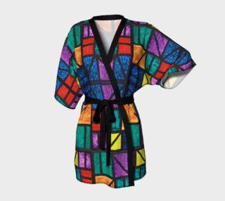 Detroit Stained Glass I Kimono Robe preview