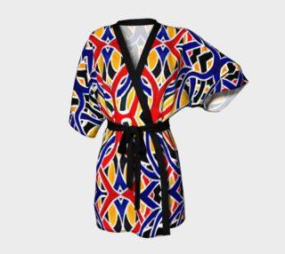 Aperçu de Incan Maze Kimono Robe