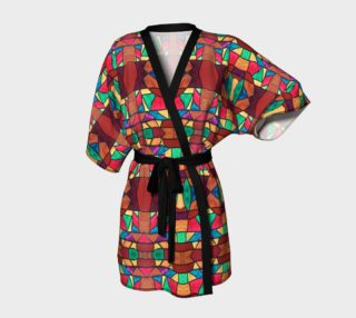 Penobscot Stained Glass Kimono Robe preview