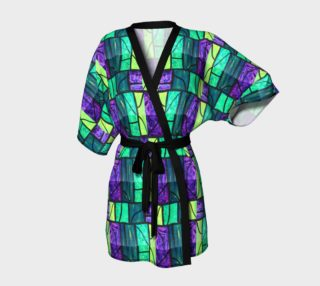 Cross Stained Glass Kimono Robe preview
