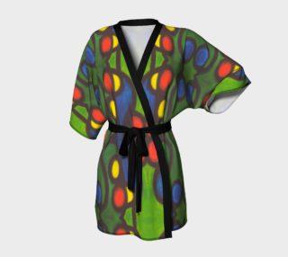 Festive City Lights Kimono Robe preview