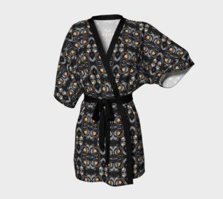 Hematite Orange Kimono Robe preview
