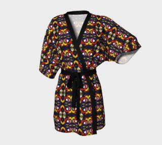 Tribal Motif Kimono Robe preview