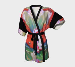 Koi and Lotus Kimono preview