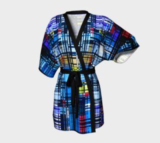 Colorful Modern Abstract Kimono Robe preview