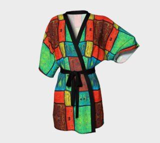 Aperçu de Coney Island Mosaic Kimono Robe