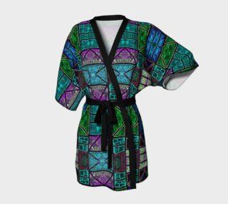 Evening Glass Garden Kimono Robe preview