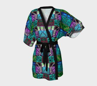 Charlevoix Stained Glass Kimono Robe preview