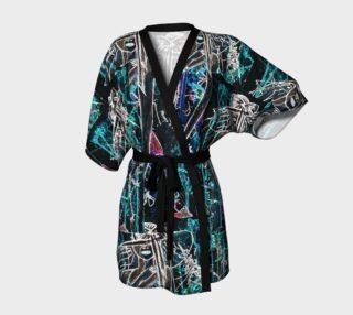 Lady in red negativ kimono preview