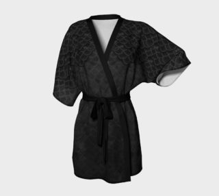 Gothic Mermaid Scales Kimono Robe preview
