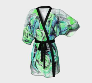 A green day kimono blue and green preview