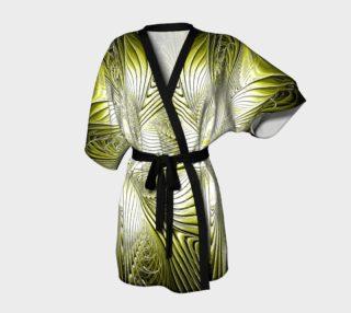 Aperçu de Yellow Flare Kimono