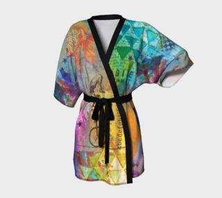 Life is a Circus! - Art Wear Kimono Robe by Danita Lyn preview