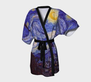Vincent Van Gogh Starry Night Kimono  preview