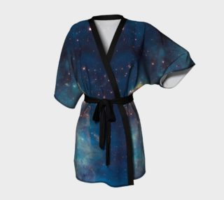 Blue Nebula Kimono Robe preview