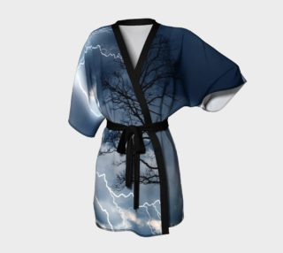 Electric Conversation - Kimono Robe preview
