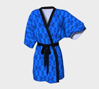 Aperçu de Hypnotic blue pattern