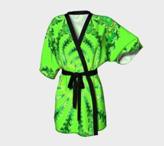 Down the Rabbit Hole Kimono Robe preview