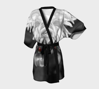 Ladybug on a Dahlia Bud Kimono Robe preview