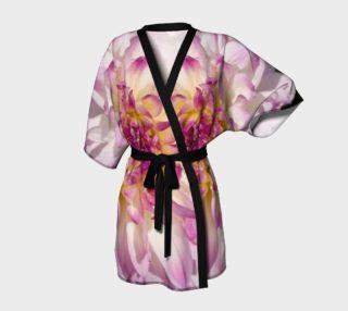 Pink Dahlia Kimono Robe preview
